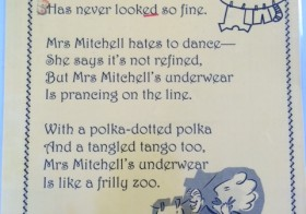 Mrs Mitchell's Underwear